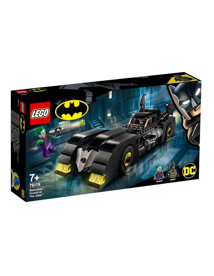 DC Batman Batmobile: Pursuit of The Joker 76119 image 1
