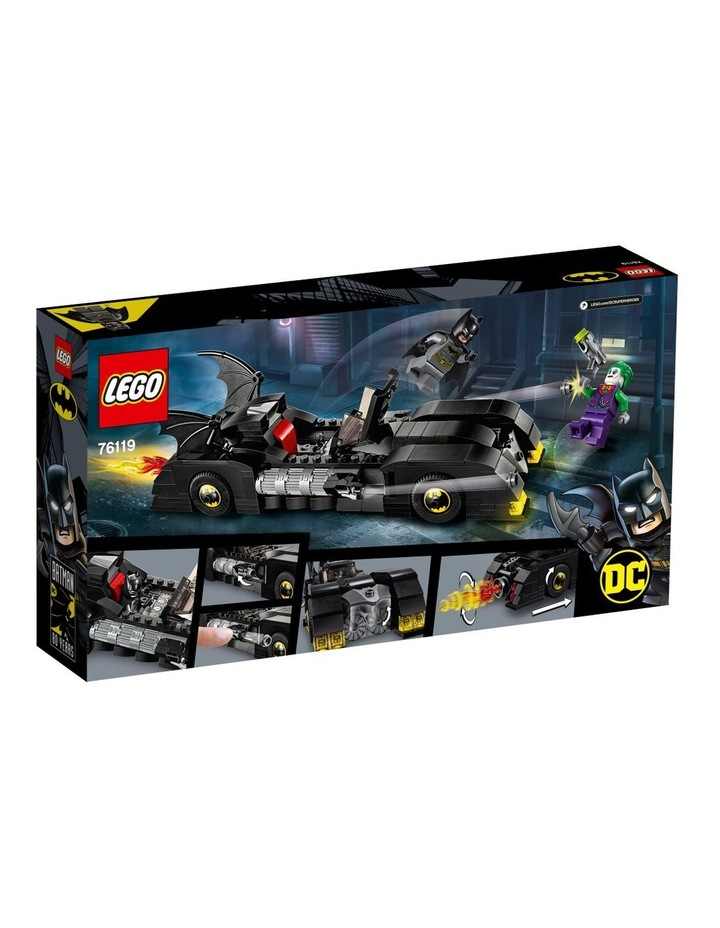 DC Batman Batmobile: Pursuit of The Joker 76119 image 2