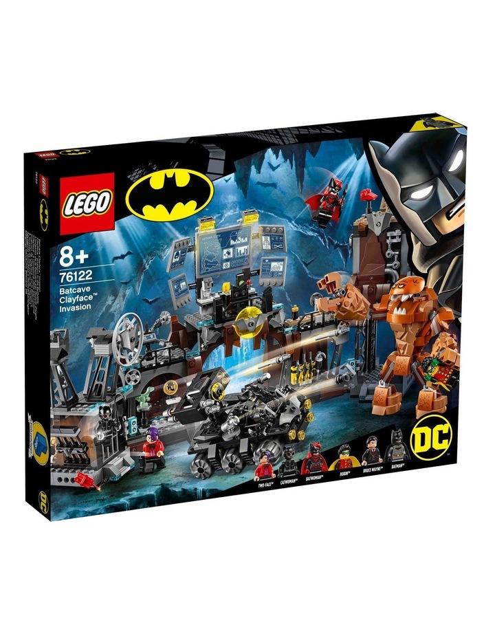 DC Batman Batcave Clayface Invasion 76122 image 1