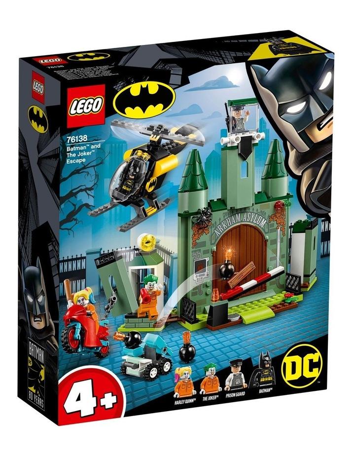 DC Batman Batman and The Joker Escape 76138 image 1