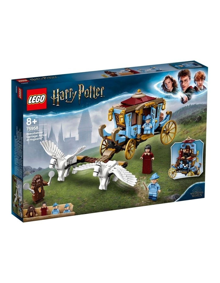 Harry Potter and the Goblet of Fire Beauxbatons Carriage: Arrival at Hogwarts 75958 image 1