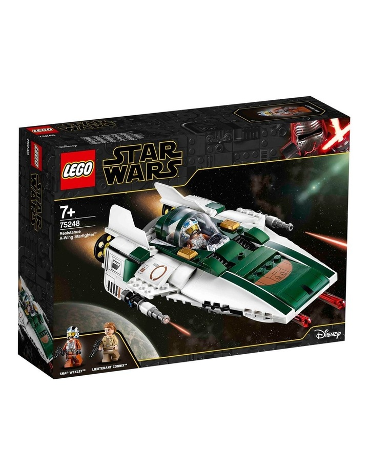 Star Wars The Rise of Skywalker Resistance A-Wing Starfighter 75248 image 1