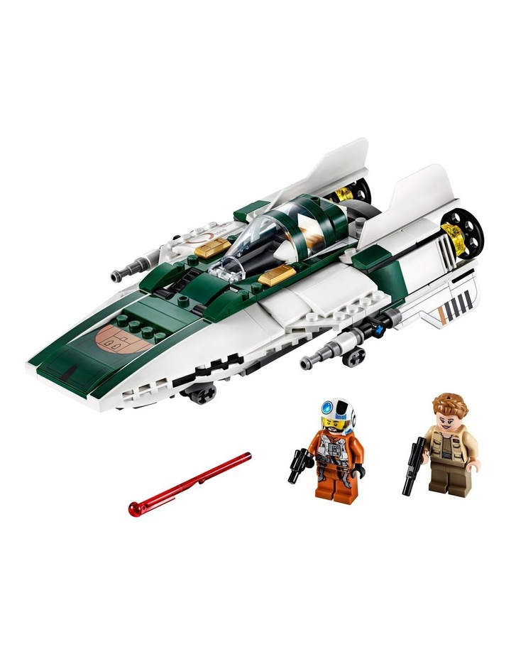 Star Wars The Rise of Skywalker Resistance A-Wing Starfighter 75248 image 2