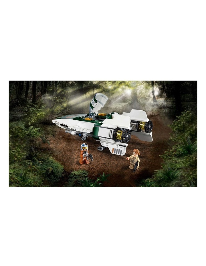 Star Wars The Rise of Skywalker Resistance A-Wing Starfighter 75248 image 4