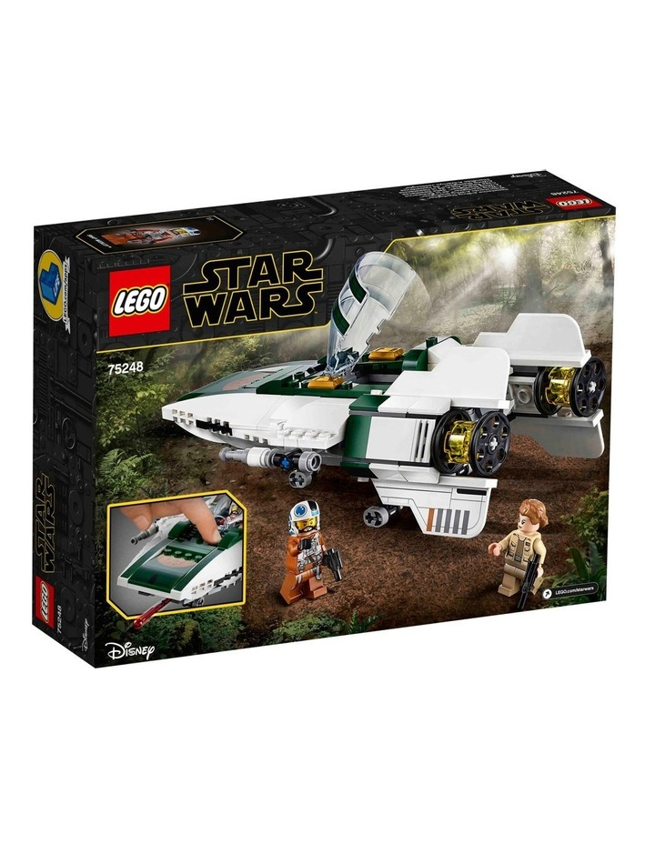 Star Wars The Rise of Skywalker Resistance A-Wing Starfighter 75248 image 6