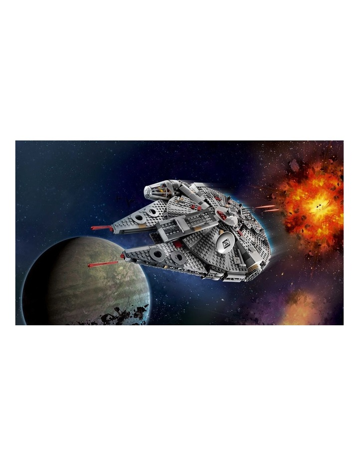 Star Wars The Rise of Skywalker Millennium Falcon 75257 image 3