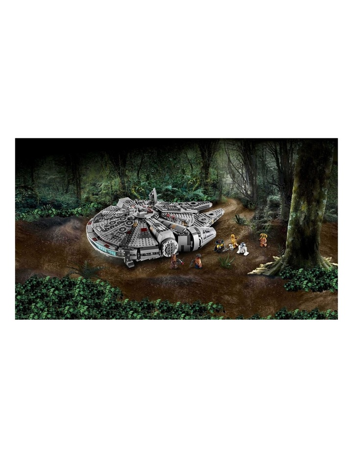 Star Wars The Rise of Skywalker Millennium Falcon 75257 image 4