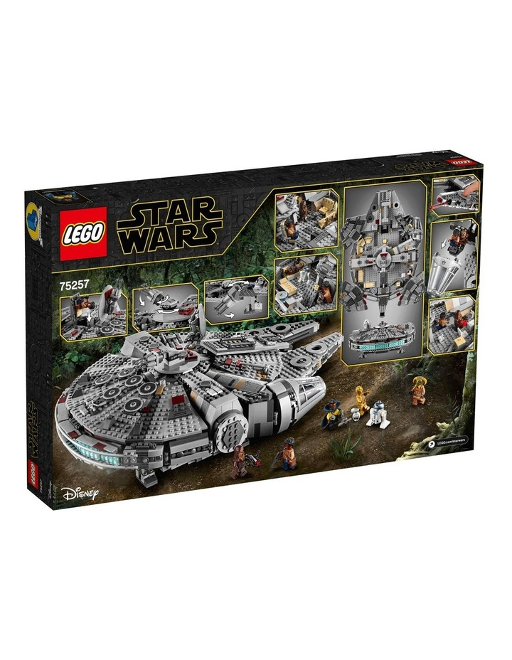 Star Wars The Rise of Skywalker Millennium Falcon 75257 image 6