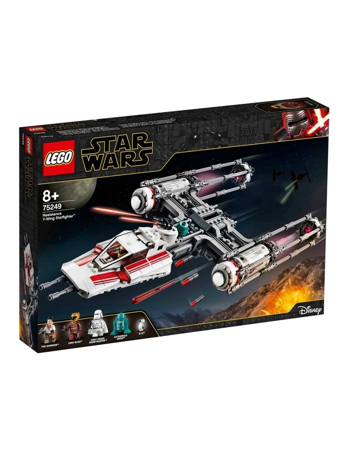 Star Wars The Rise of Skywalker Resistance Y-Wing Starfighter 75249 image 1