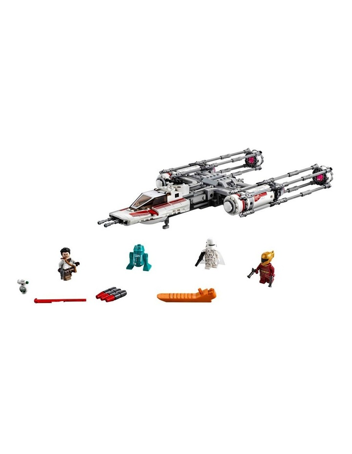 Star Wars The Rise of Skywalker Resistance Y-Wing Starfighter 75249 image 2