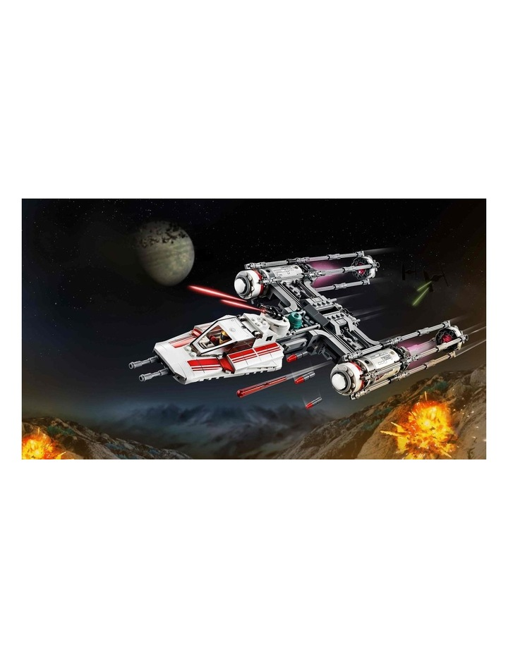 Star Wars The Rise of Skywalker Resistance Y-Wing Starfighter 75249 image 3
