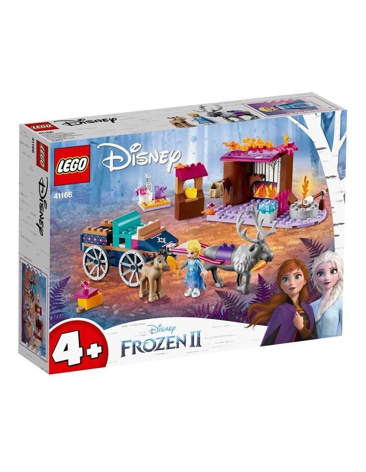 Disney Elsas Wagon Adventure 41166 image 1