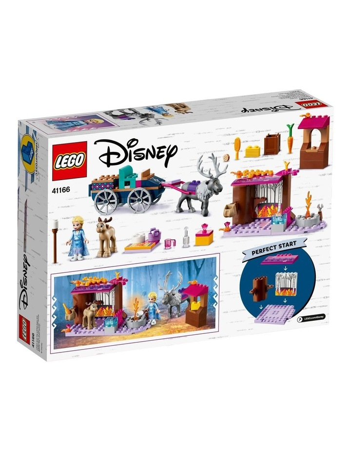 Disney Elsas Wagon Adventure 41166 image 6