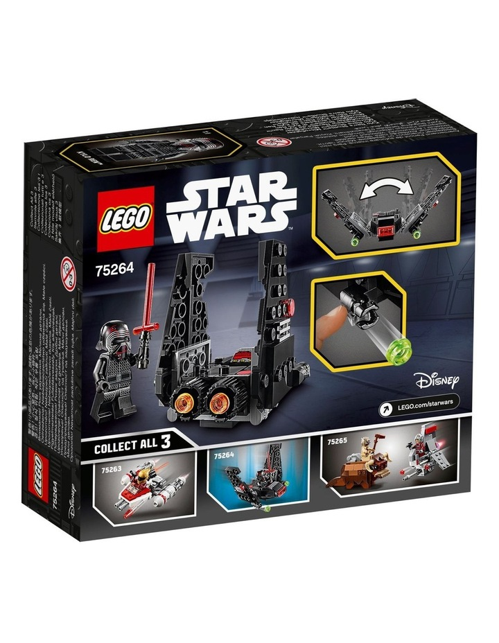 Star Wars Kylo Rens Shuttle Microfighter 75264 image 2