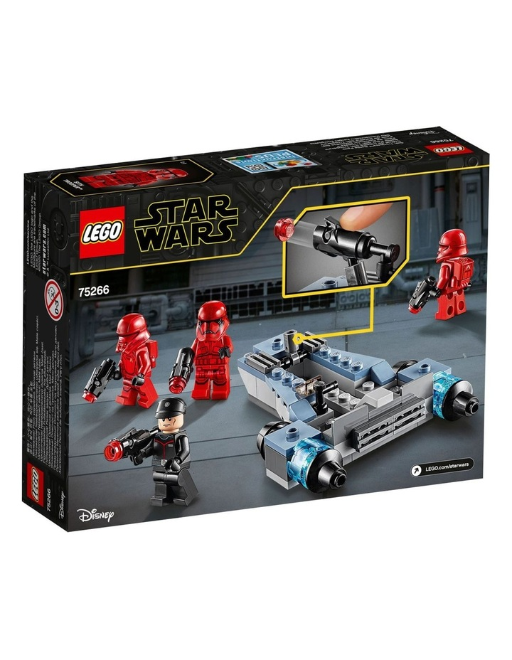 Star Wars Sith Troopers Battle Pack 75266 image 2