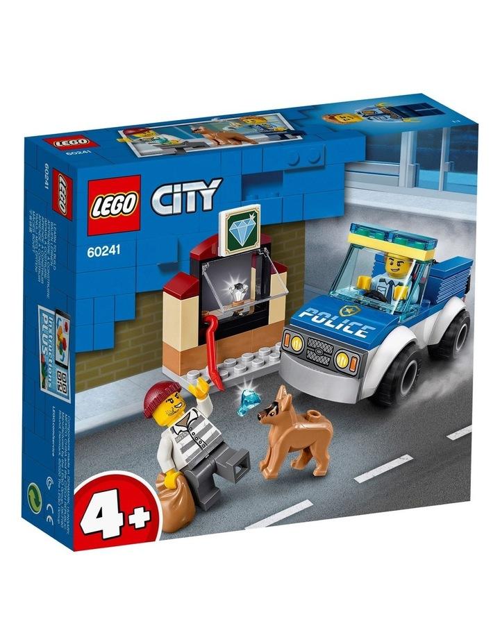 City Police Dog Unit 60241 image 1