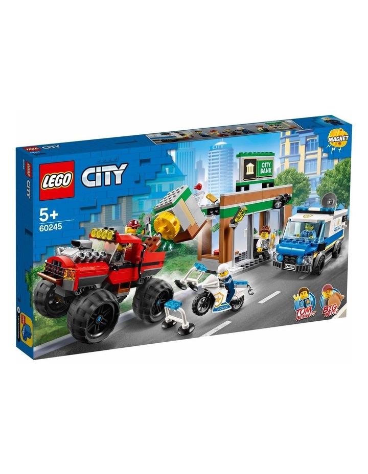 City Police Monster Truck Heist 60245 image 1