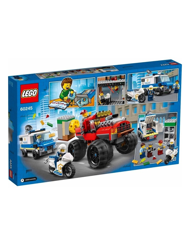 City Police Monster Truck Heist 60245 image 7