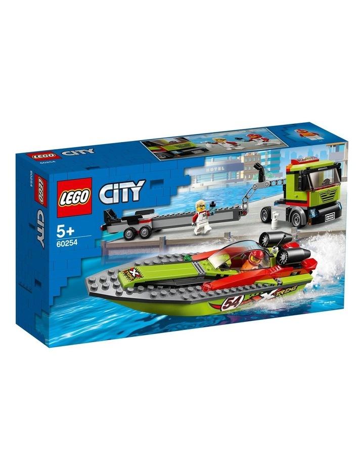 City Race Boat Transporter 60254 image 1