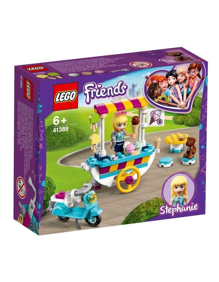 Friends Ice Cream Cart 41389 image 1
