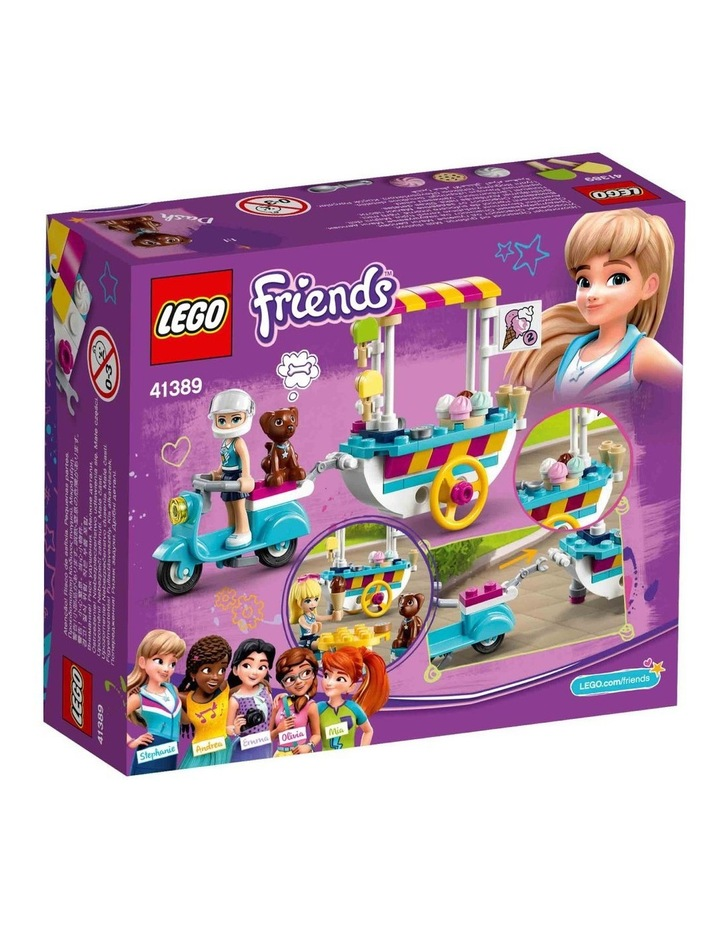 Friends Ice Cream Cart 41389 image 7