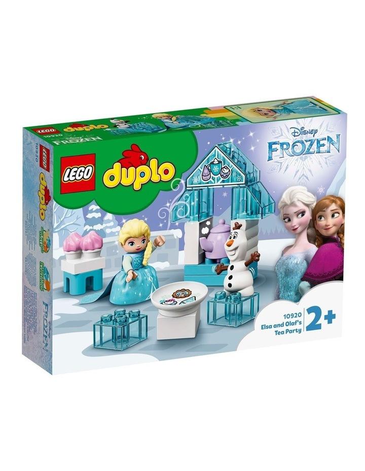 DUPLO Frozen Elsa and Olaf's Tea Party 10920 image 1