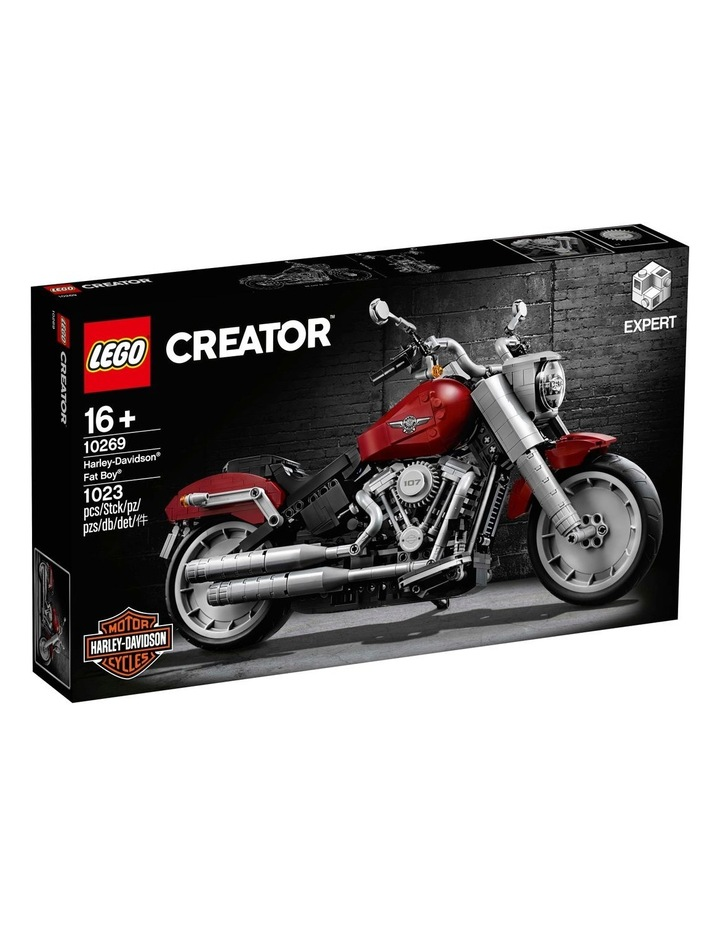 Creator Expert Harley-Davidson Fat Boy 10269 image 1
