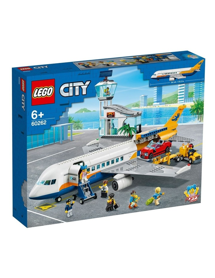 City Passenger Airplane 60262 image 1
