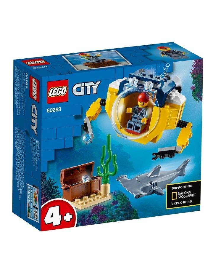 City Ocean Mini-Submarine 60263 image 1