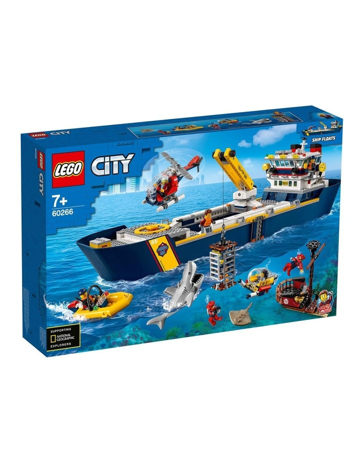 City Ocean Exploration Ship 60266 image 1