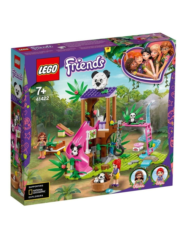 Friends Panda Jungle Tree House 41422 image 1