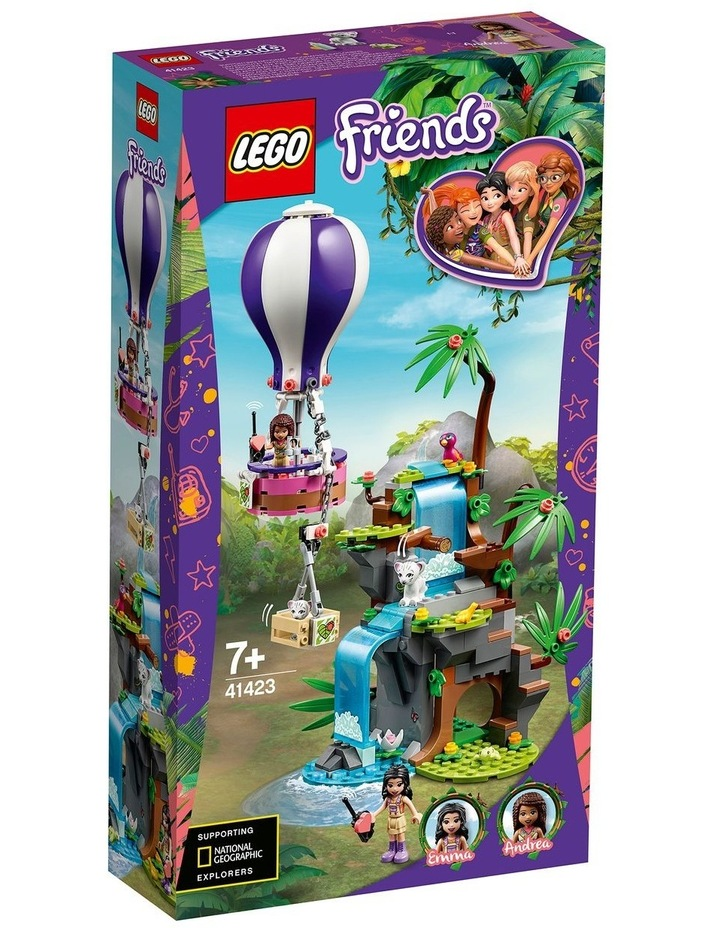 Friends Tiger Hot Air Balloon Jungle Rescue 41423 image 1