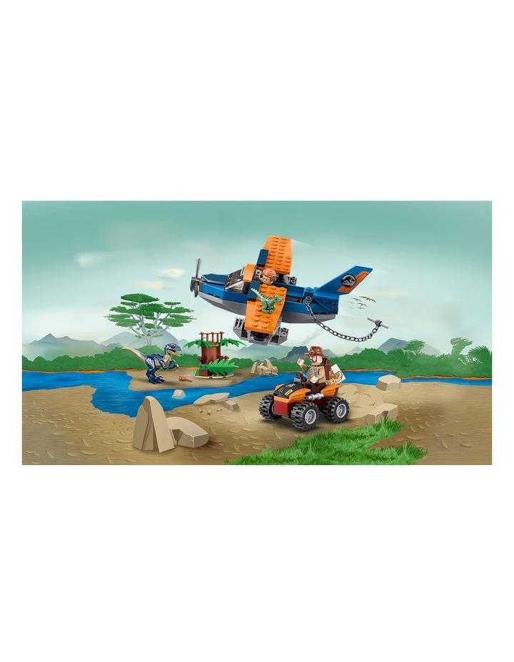 Jurassic World Velociraptor: Biplane Rescue Mission 75942 image 4