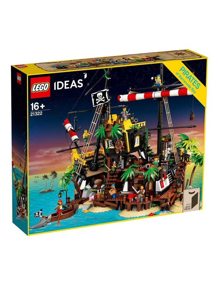 Ideas Pirates of Barracuda Bay 21322 image 1