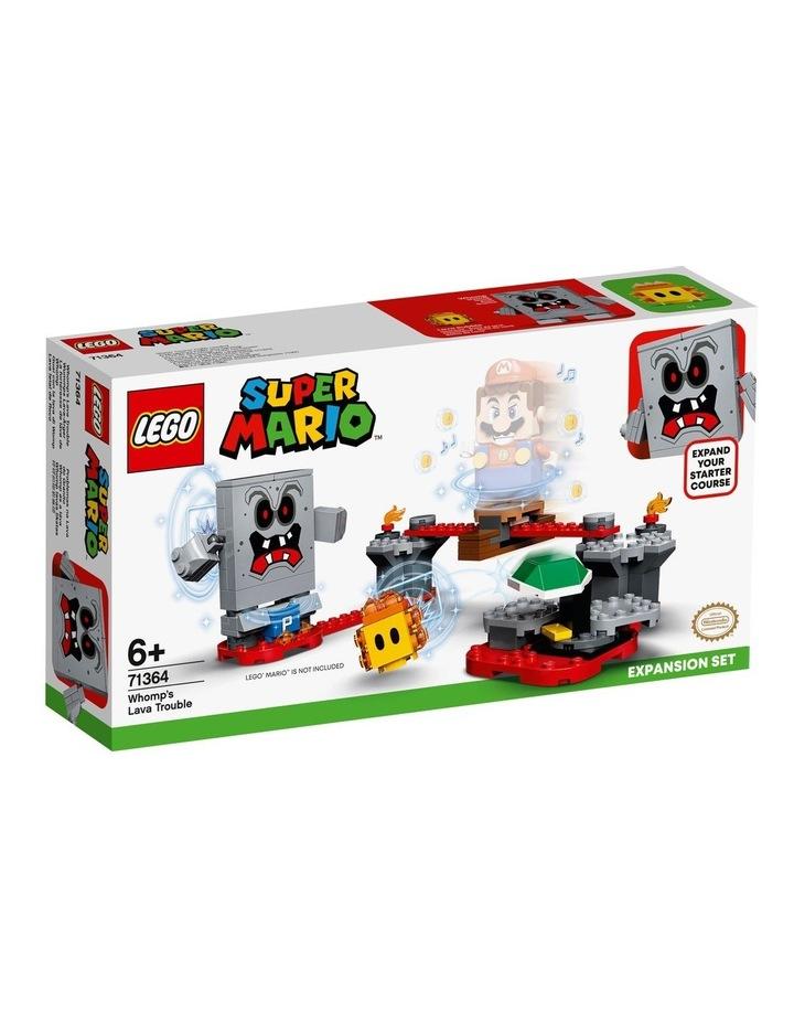 Super Mario Whomps Lava Trouble Expansion Set 71364 image 1