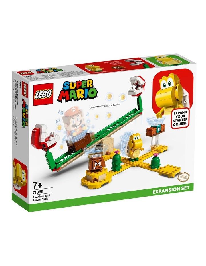 Super Mario Piranha Plant Power Slide Expansion Set 71365 image 1