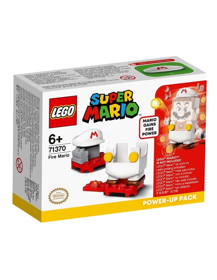 Super Mario Fire Mario Power-Up Pack 71370 image 1