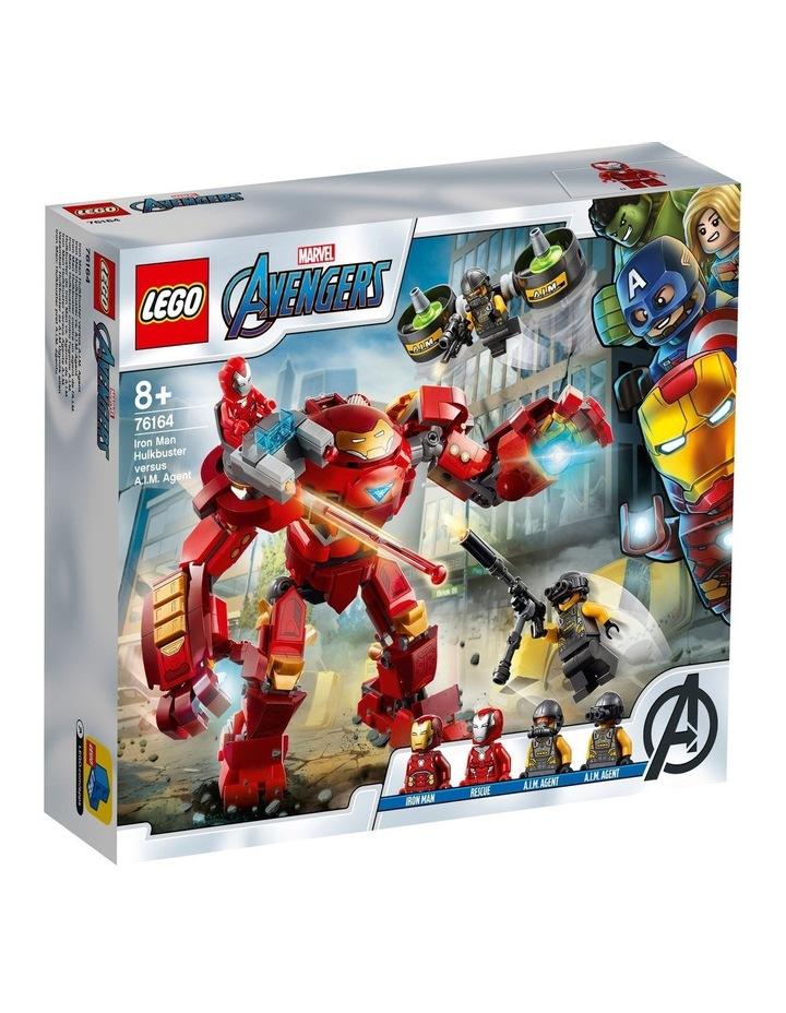Marvel Avengers Iron Man Hulkbuster versus A.I.M. Agent  76164 image 1