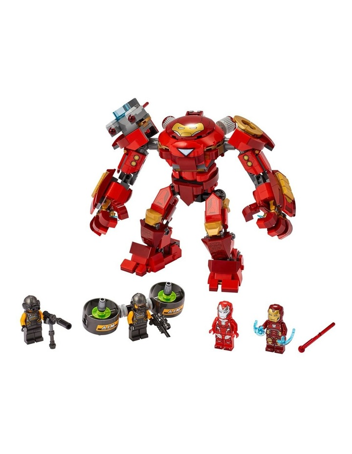 Marvel Avengers Iron Man Hulkbuster versus A.I.M. Agent  76164 image 2