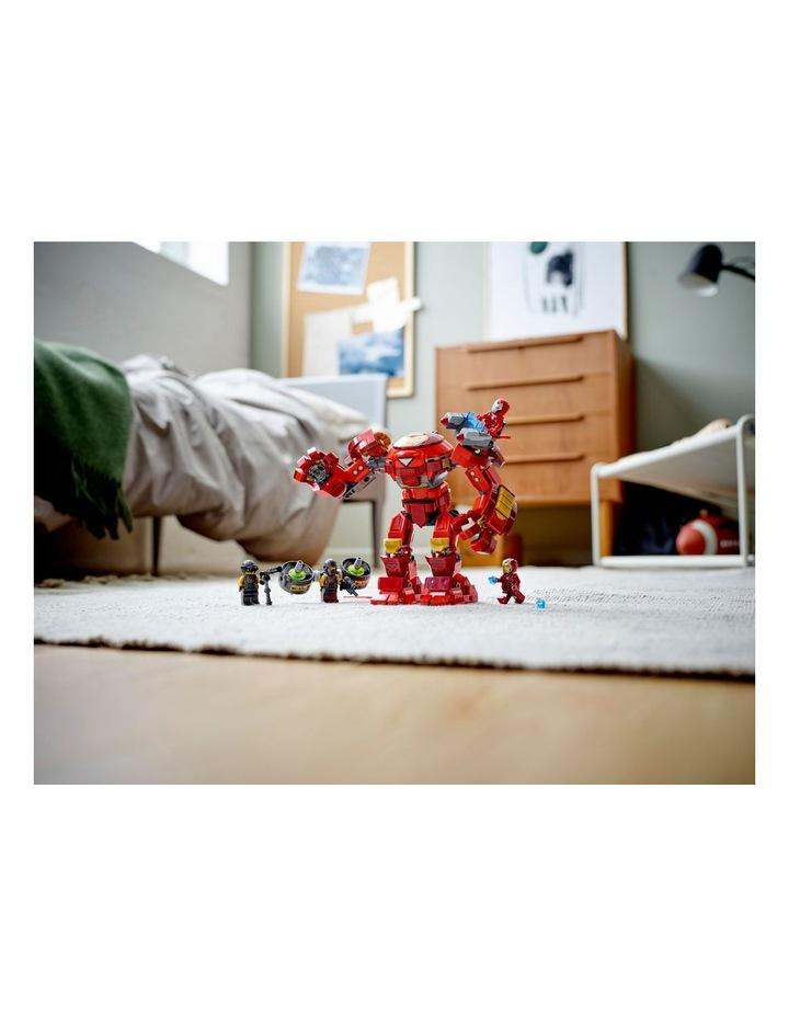 Marvel Avengers Iron Man Hulkbuster versus A.I.M. Agent  76164 image 3