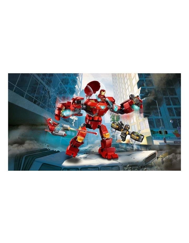 Marvel Avengers Iron Man Hulkbuster versus A.I.M. Agent  76164 image 4
