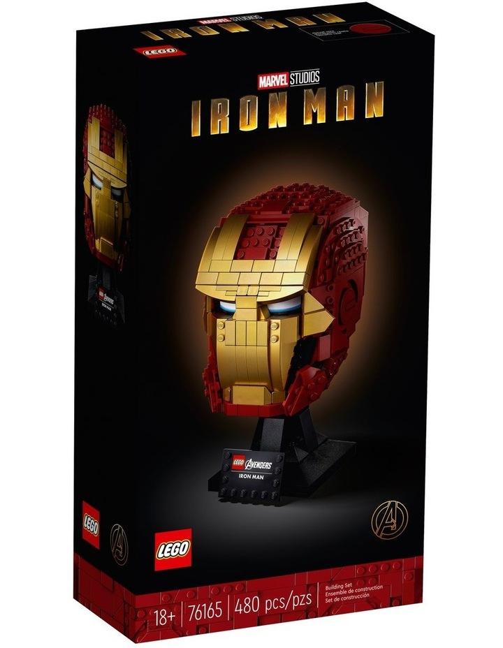 Super Heroes Marvel Avengers Iron Man Helmet 76165 image 1