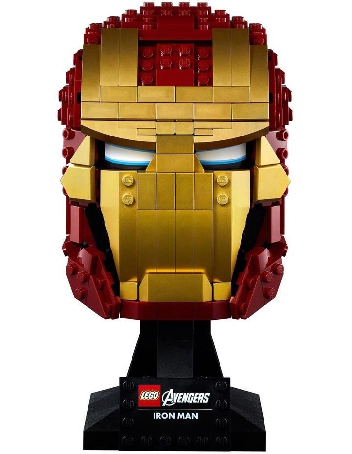 Super Heroes Marvel Avengers Iron Man Helmet 76165 image 2