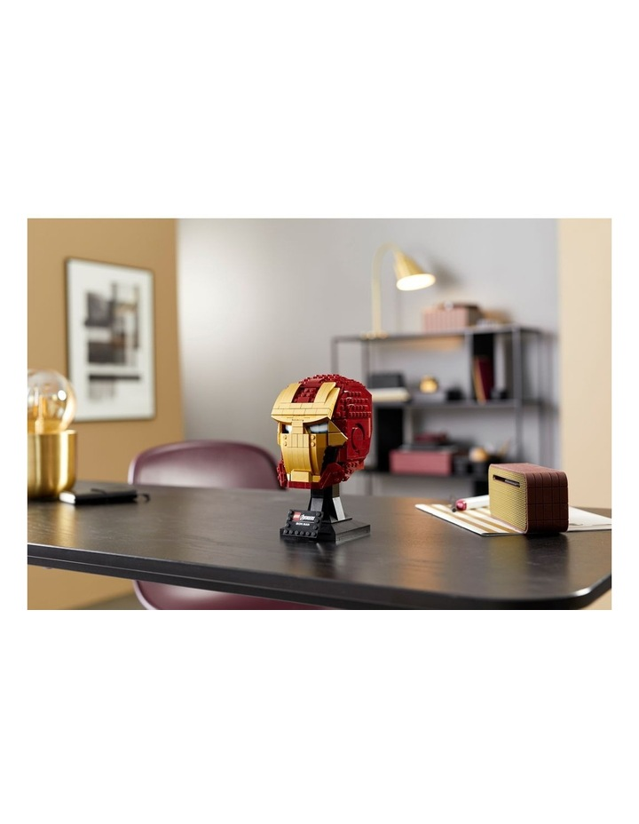 Super Heroes Marvel Avengers Iron Man Helmet 76165 image 3