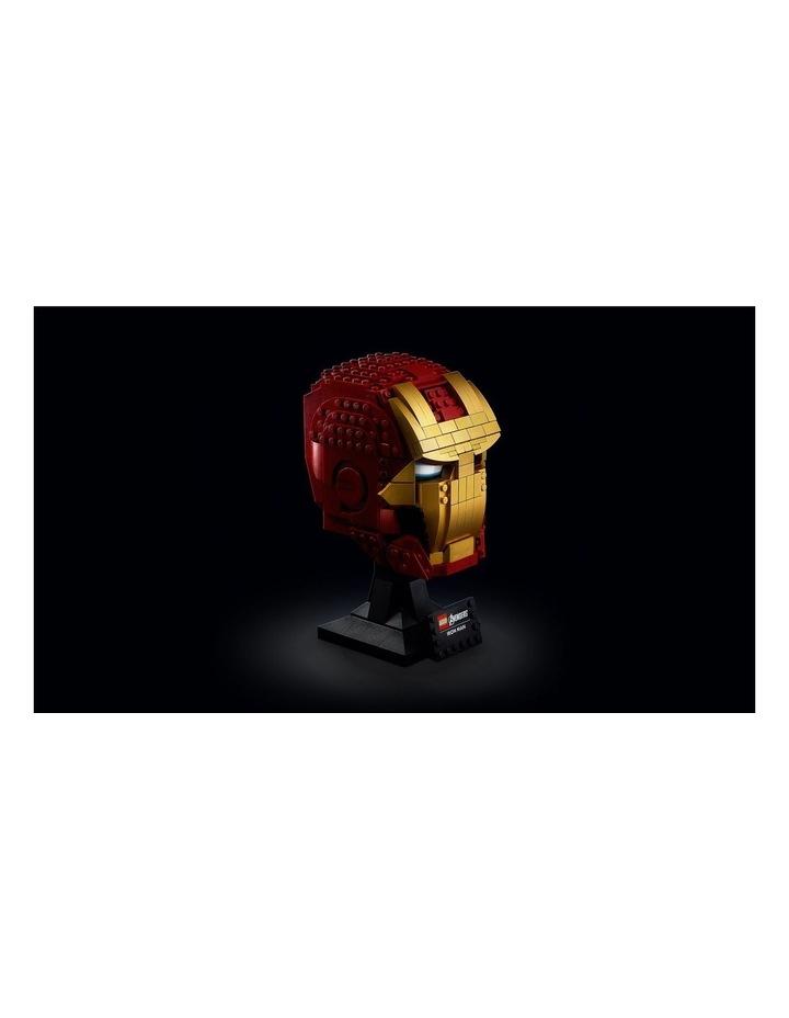 Super Heroes Marvel Avengers Iron Man Helmet 76165 image 4