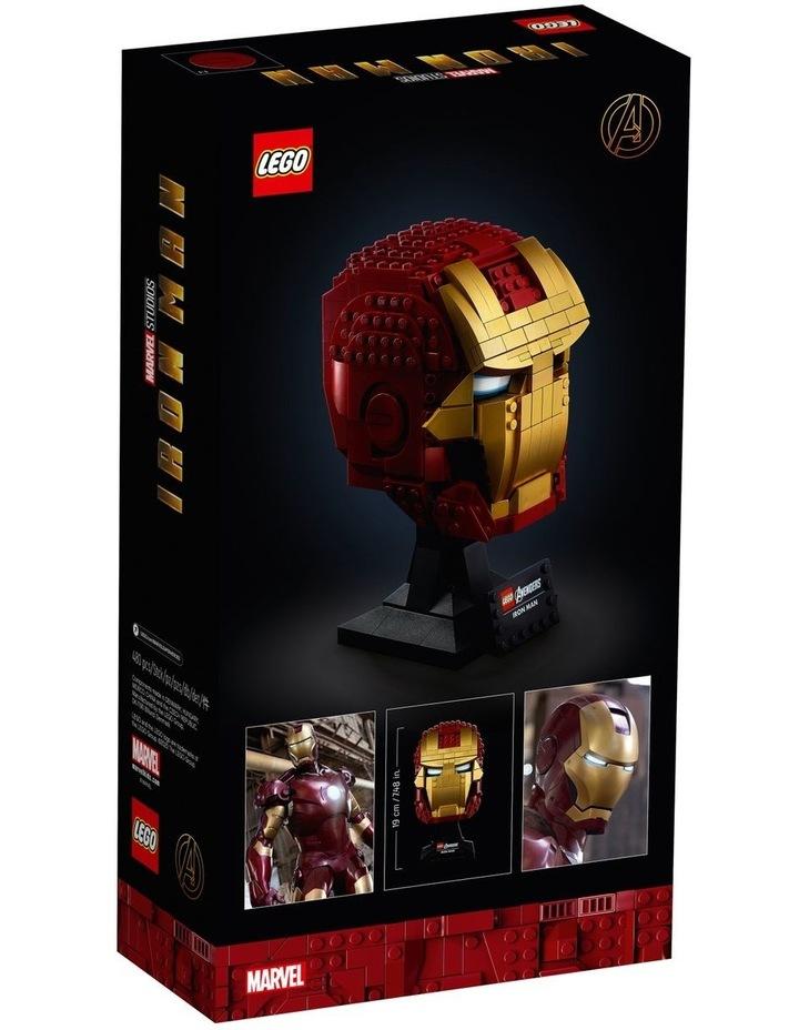 Super Heroes Marvel Avengers Iron Man Helmet 76165 image 7