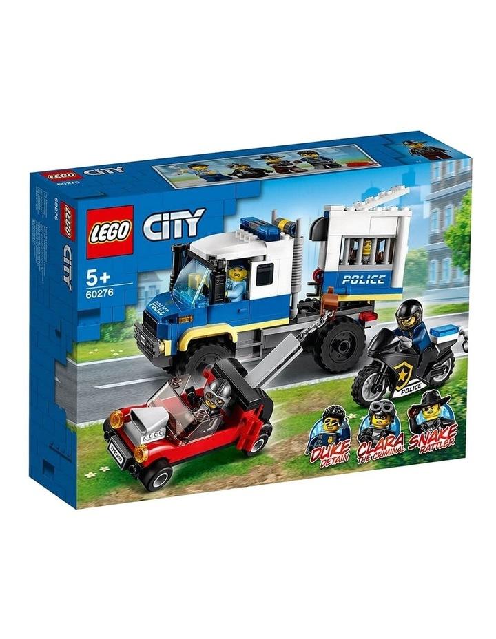 City Police Prisoner Transport 60276 image 1