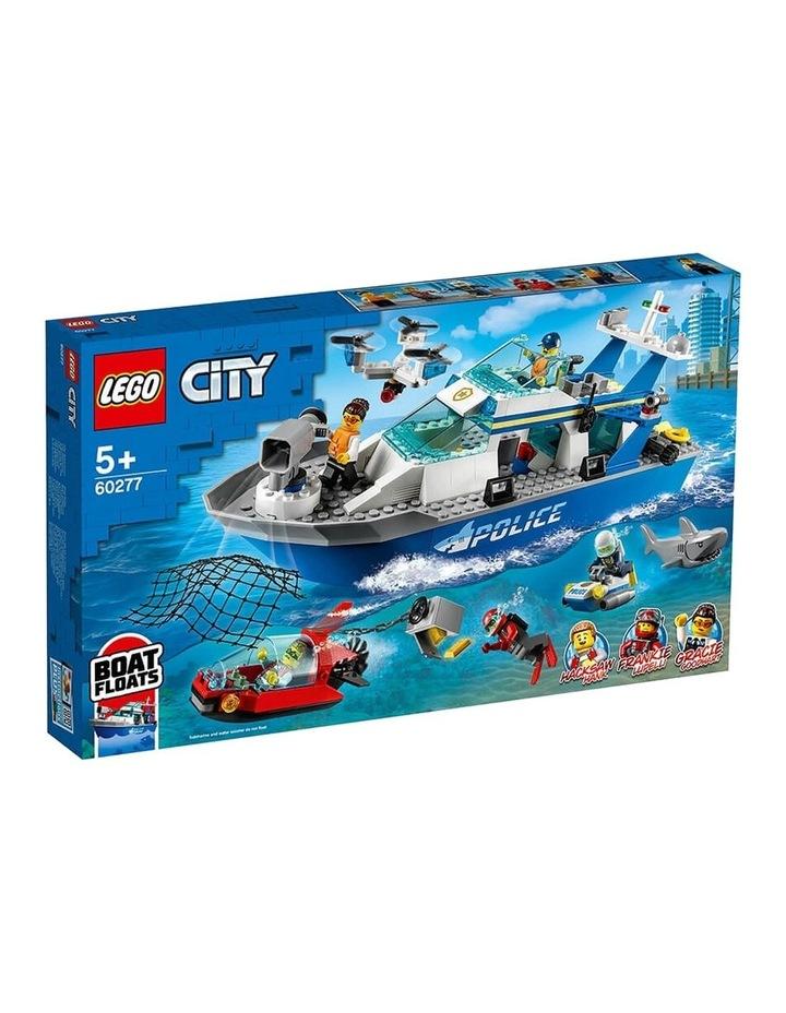 City Police Patrol Boat 60277 image 1
