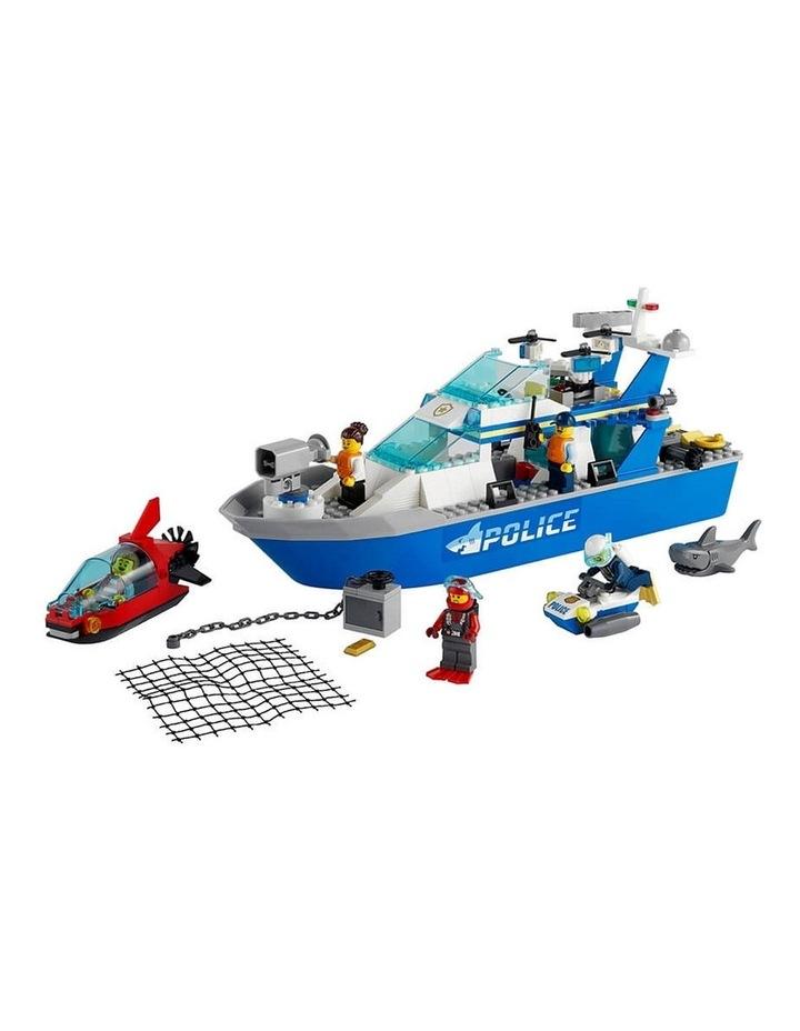 City Police Patrol Boat 60277 image 2