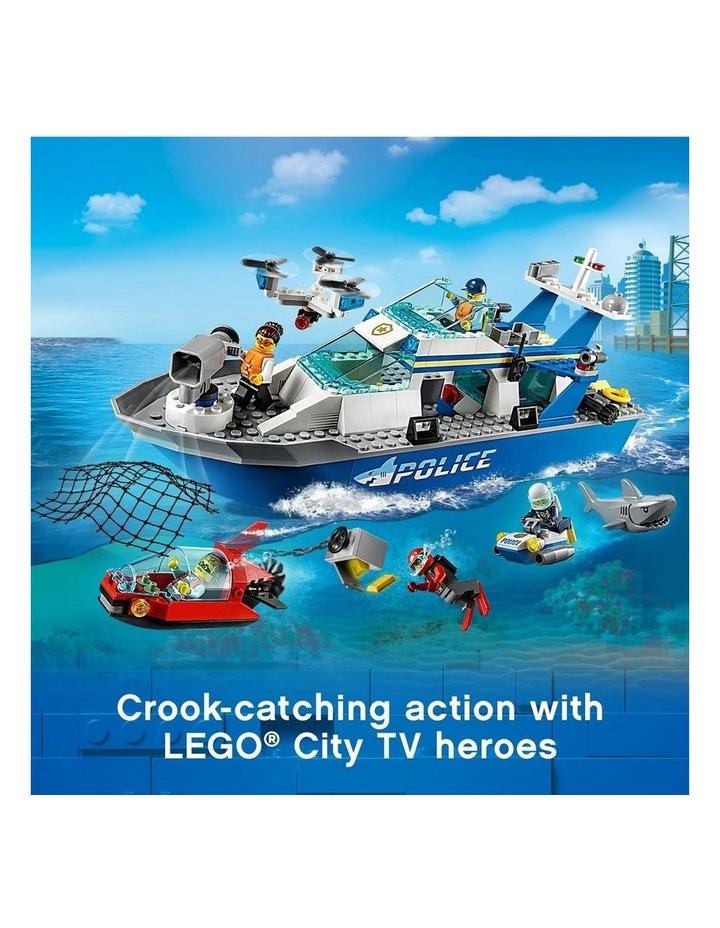 City Police Patrol Boat 60277 image 4